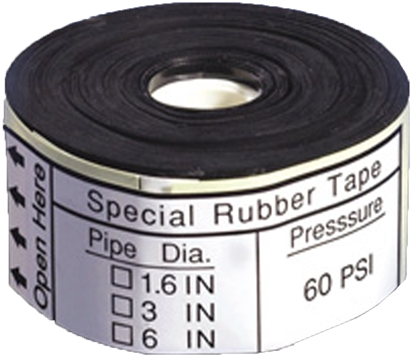 "Picture of Pressure Sealing Tape (1.5"" to 4"" pipes)"